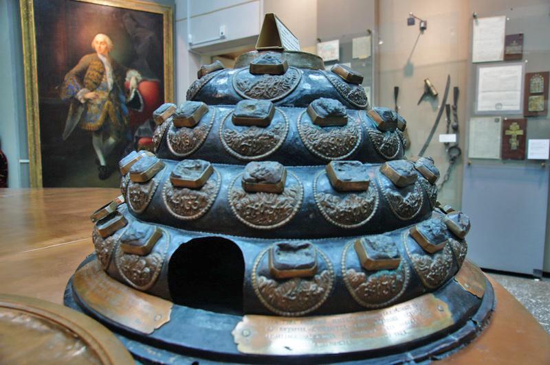 Рудная пирамида Демидова (Н.Тагил)