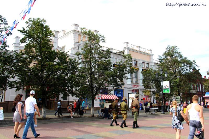 Кировка бывший магазин Валеева