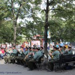 Военный оркестр на Кировке