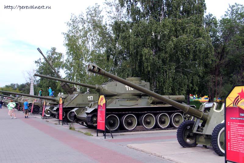Челябинск Таки Боевая техника