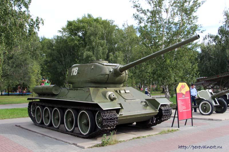 Челябинск Танк Т-34