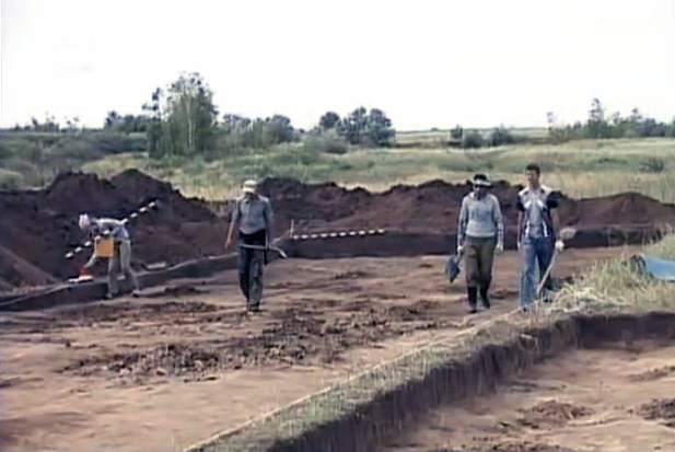 Раскопки на Южном Урале