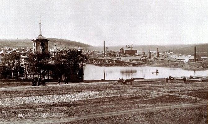 Висимо-Шайтанский завод 1890