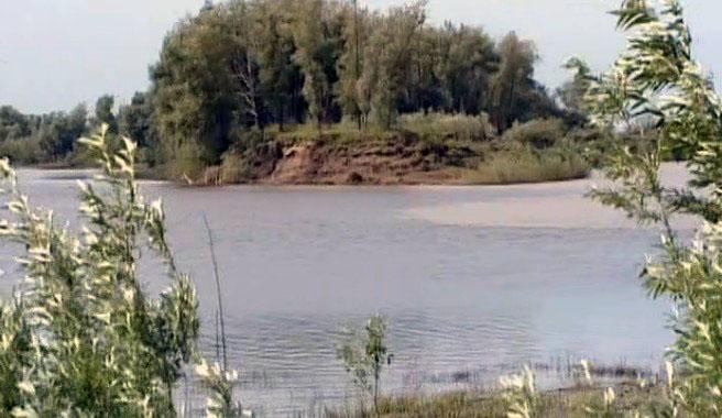 Остров на Иртыше, где погиб Ермак