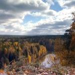 Река Чусовая осенью