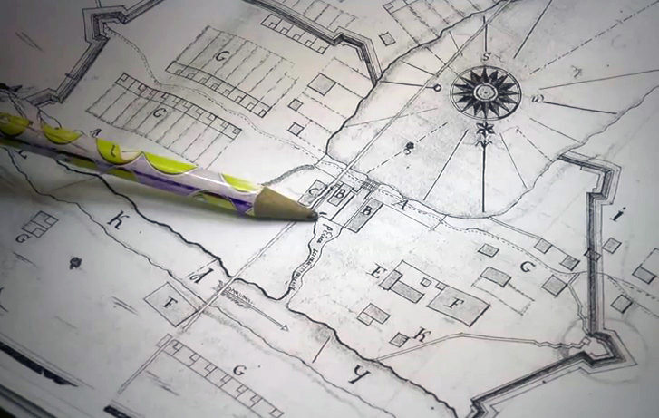 План завода 18 век