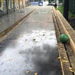 Суровый челябинский боулинг (парк Пушкина)
