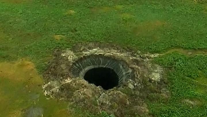 Ямал-кратер-летом