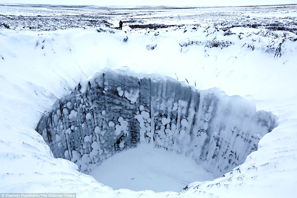 Ямал-кратер-зимой
