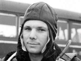 Гагарин в летке