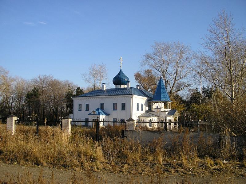 Храм в честь иконы Божией Матери Всех скорбящих Радость