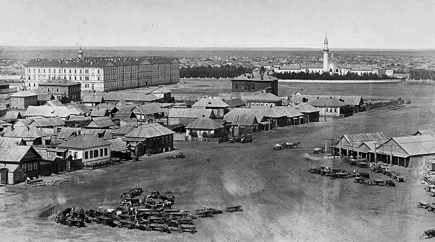 Оренбург Караван-сарай старое фото