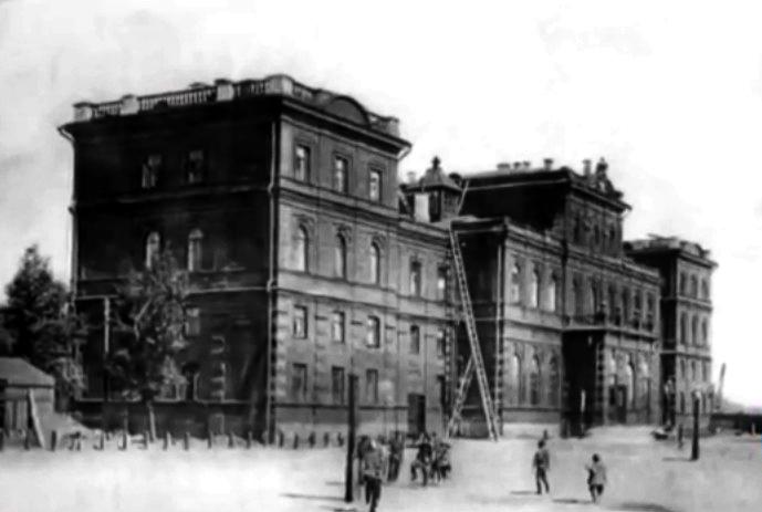 Оренбургский вокзал XIX век