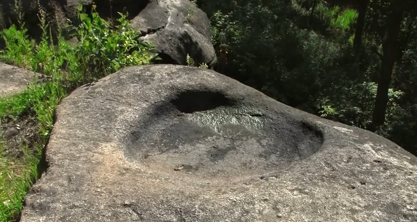 Шарташ каменные палатки чаша