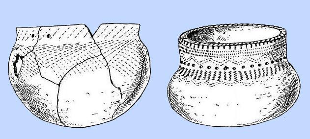 Шарташские палатки. Керамика