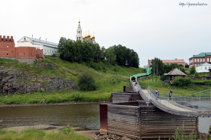 Верхотурье мост через Туру