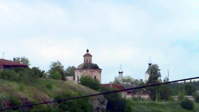 Верхотурье. Покровский женский монастырь (с моста)