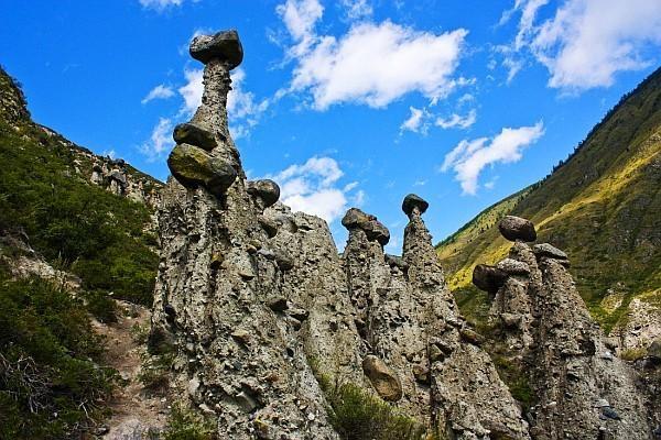 Каменные грибы6