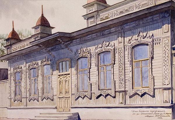 Дом богатого горожанина на ул. Исетской