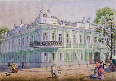 Особняк Архипова по улице Скобелева (ныне улица Коммуны)