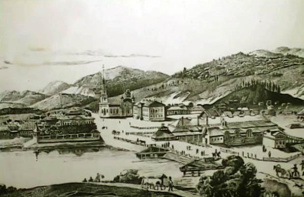 Центр Миасса 18 век