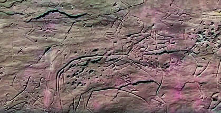 Хакасия петроглифы